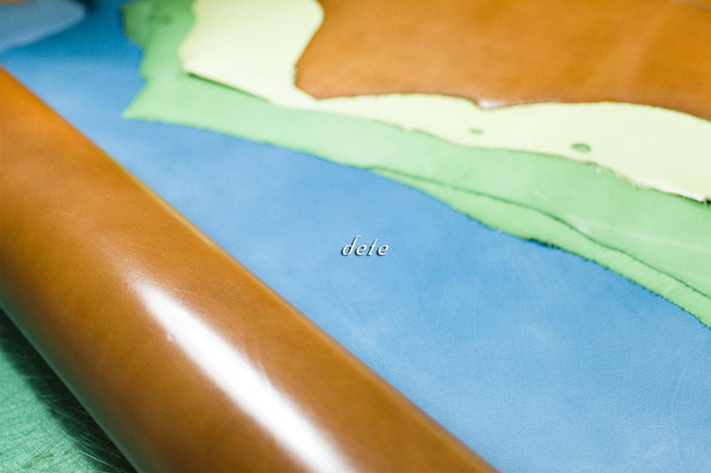 貴重な革 ベビーカーフ、ALRAN社製フレンチゴート