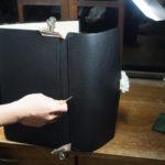 Making – クラッチブリーフケース10 カブセ