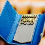 フレンチゴートの手縫いキーケース