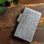 象革の手帳カバー NOLTY リスティ1用手縫い特注モデル