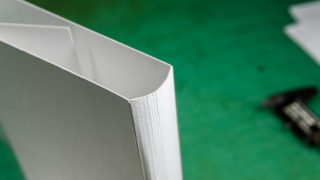 1冊の本の為のブックカバーを作る の巻