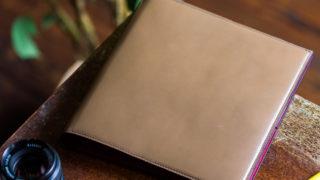 貴重な国産カーフを使ったシステム手帳 アシュフォードHB×WA5リフィル対応