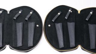 クラッチバッグシザーケースS15-4には2種類のブラックがあるという話