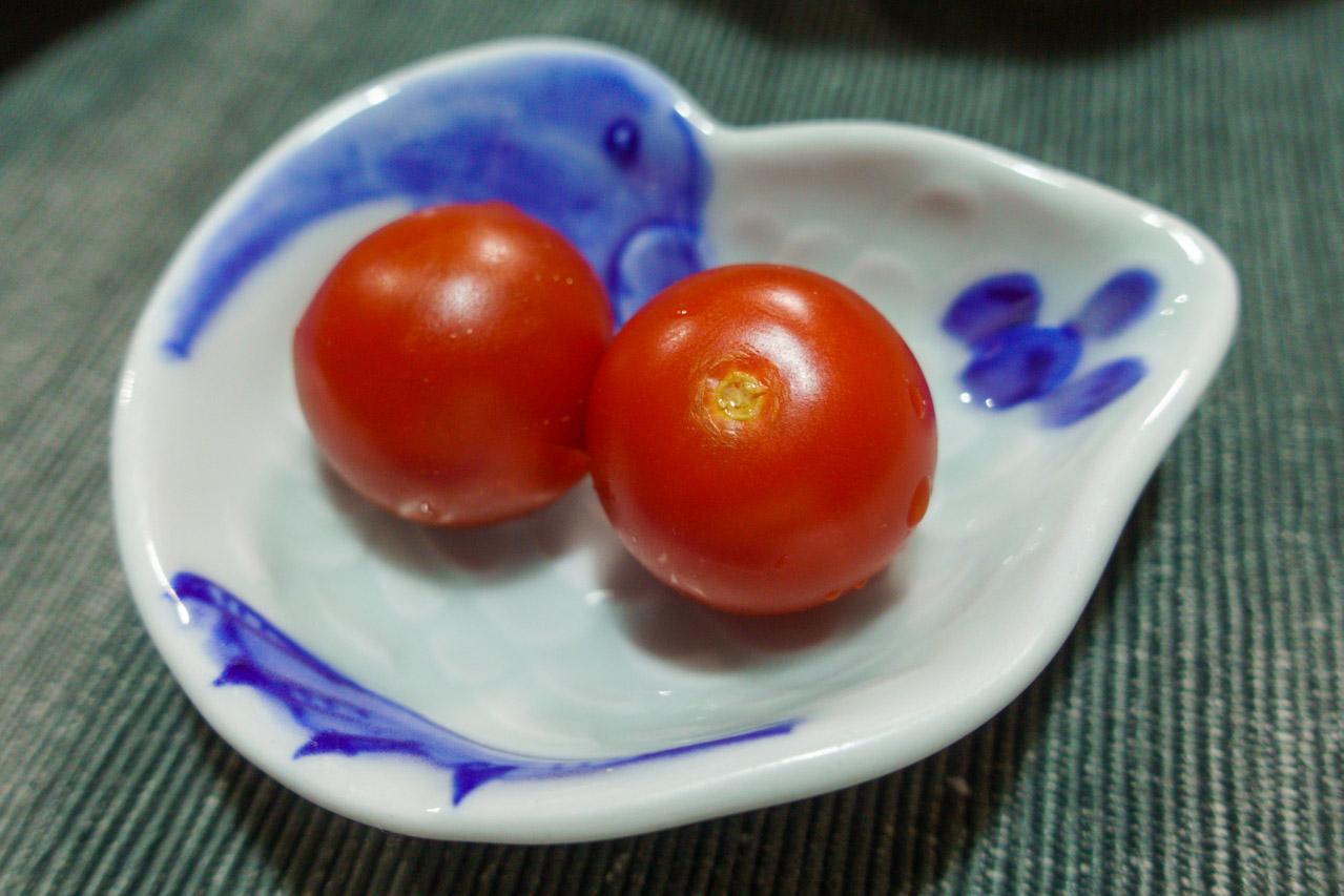ミニトマトのぬか漬け