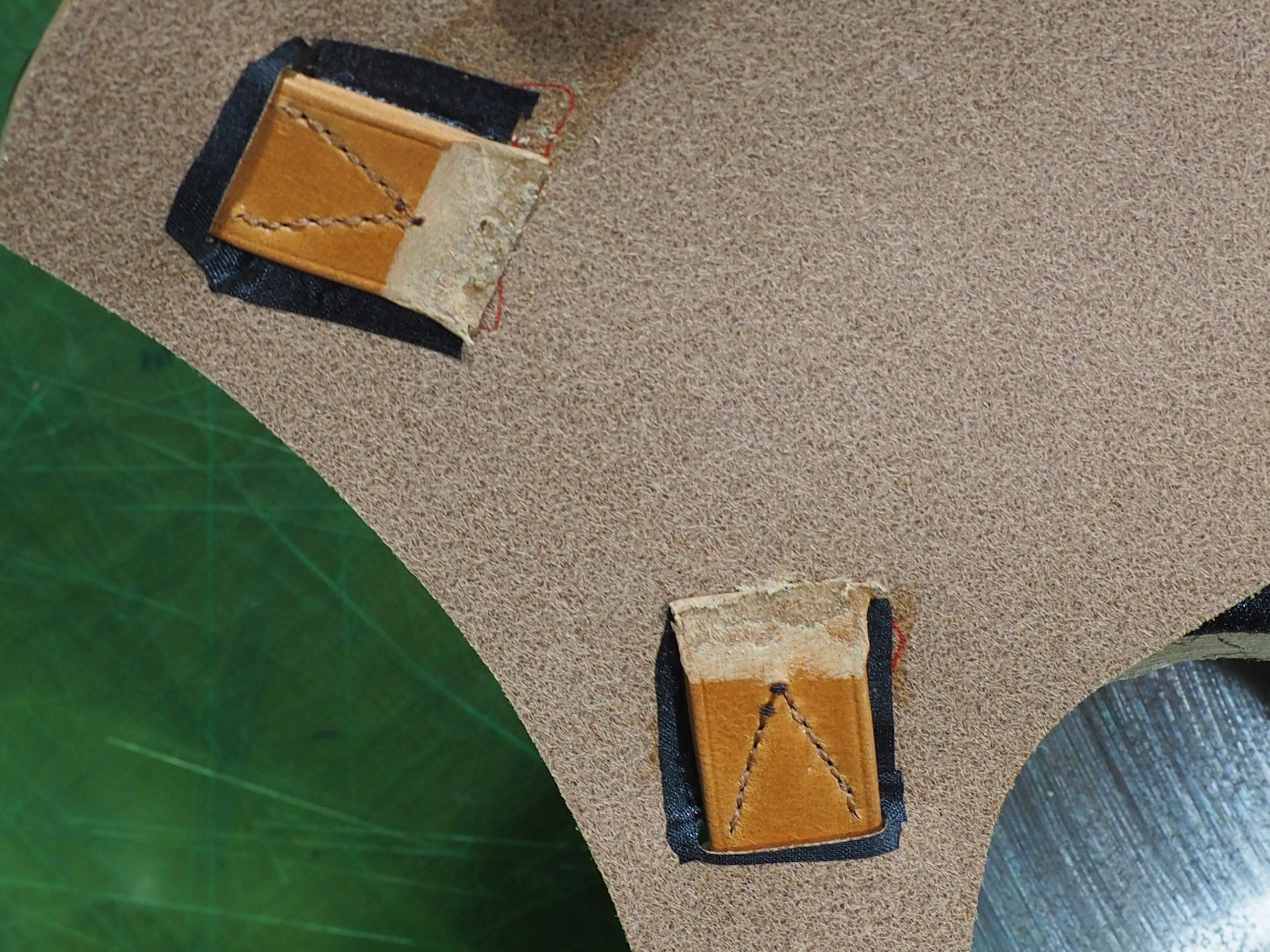 セラフィーニテープは貼るだけではなく縫って固定