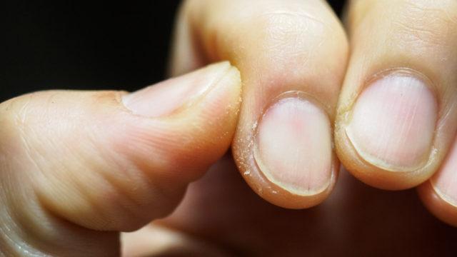 砥いだ時の爪の汚れ対策