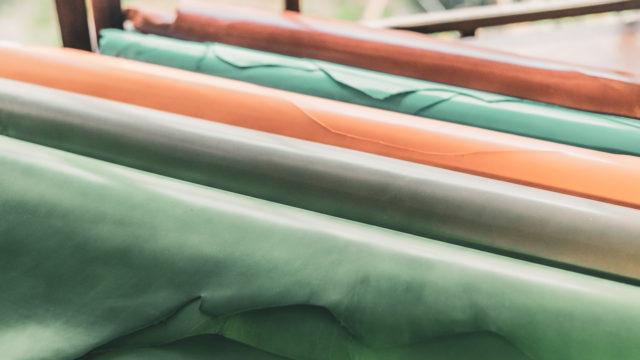 レザークラフト用の革の保管方法