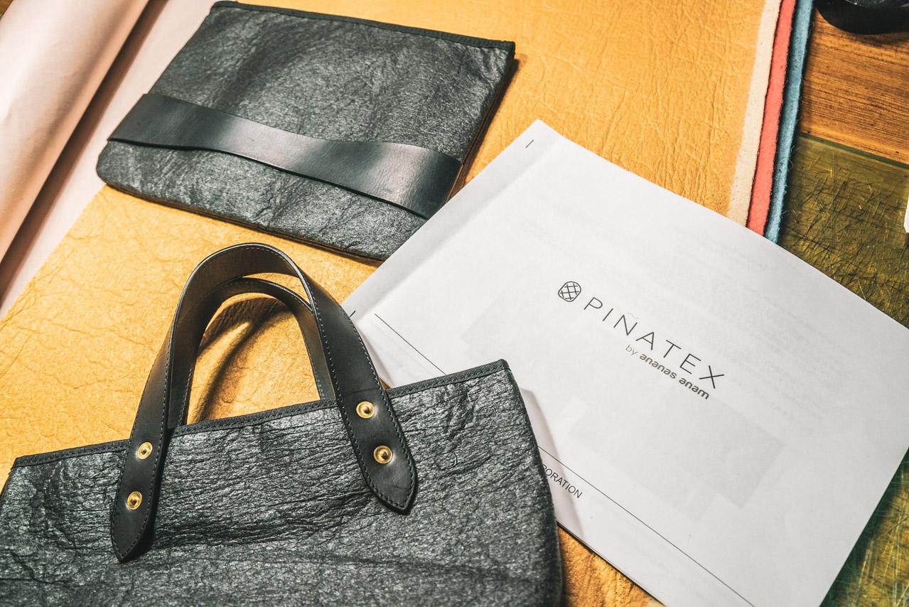 ピニャテックスのサンプルバッグ