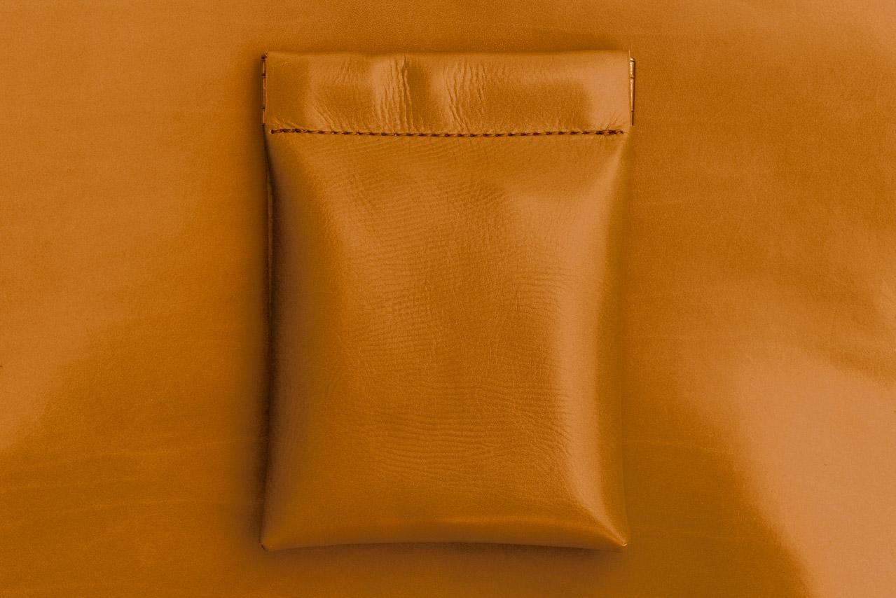 ミニ財布 ブラウン