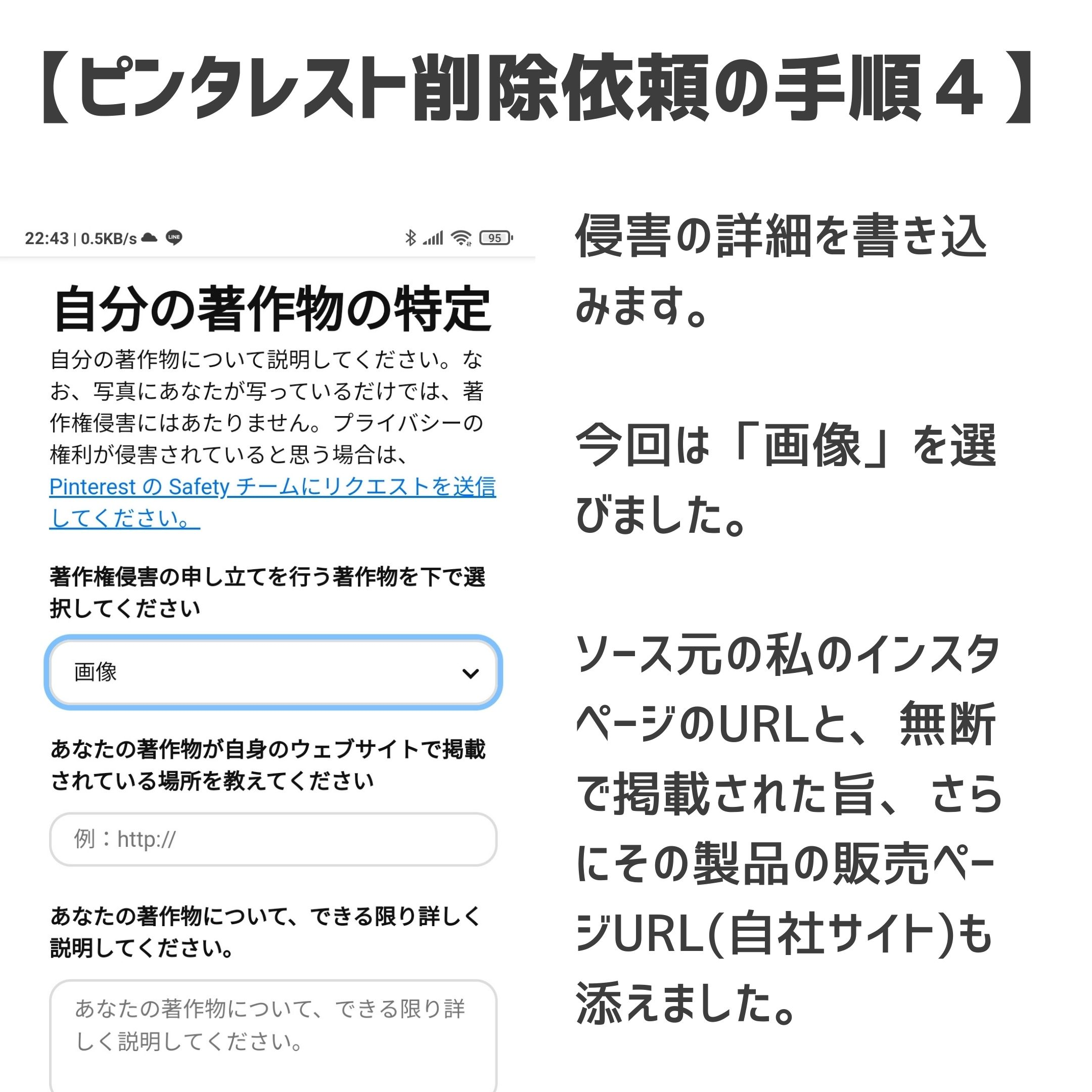 今回は過去に私がアップしたInstagramの写真ですので、そちらのページのURLと、念の為、この商品を紹介しているネットショップのURLも添えました。