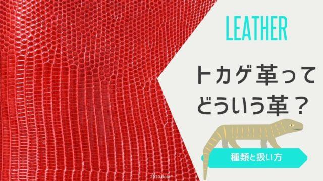 リングマークトカゲ革(リザード)の知識|魅力と特徴をたっぷり解説